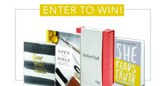 Enter to win a She Reads Truth prize pack that includes the new She Reads Truth CSB Bible!!