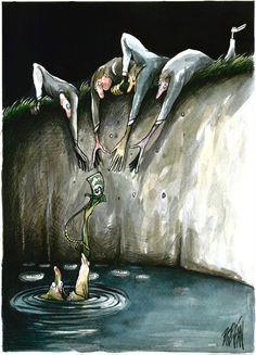 Кубинские карикатуры от Болигана
