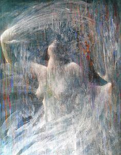 "SERIE ""LA ESTÉTICA DEL SILENCIO"" óleo sobre lienzo 146x114 cms. 2009"