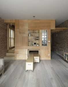 Dwell - This Compact Apartment in NYC Is Full of Crafty Solutions