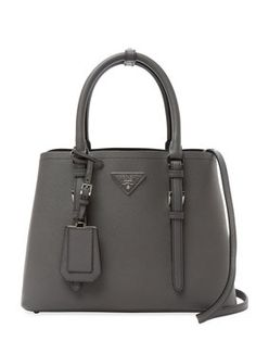 My Fave PRADA BAG!!!! Double Small Saffiano Leather Tote from Grey Gardens: Vintage Accessories on Gilt