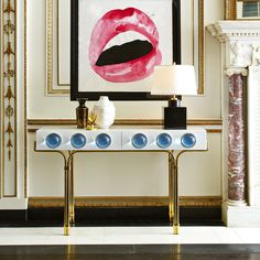 The Jonathan Adler Globo Collection: A futuristic collection that feels right now in home decor.