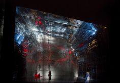 Die Frau Ohne Schatten at the Met. Production, set, costume and lighting by Herbert Wernicke.