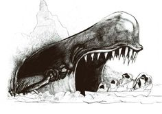 Illustration by Ralph Steadman: From America (1974)