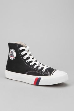 pro keds black high performance