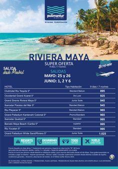 Super Oferta Riviera Maya Salidas Mayo // Junio ultimo minuto - http://zocotours.com/super-oferta-riviera-maya-salidas-mayo-junio-ultimo-minuto/