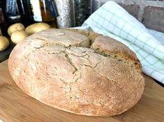 Här kommer receptet på ett matigt glutenfritt bröd med potatis. Mitt potatisbröd passar utmärkt som tillbehör till soppa, till frukost eller när som helst när du vill ha ett gott matbröd....