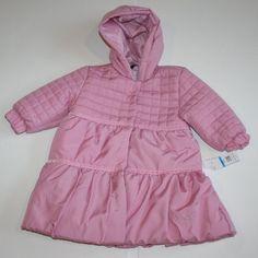 $88.00 Baby Calvin Klein Girl's Infant/Baby Winter Coat - Size: 24 Months Pink