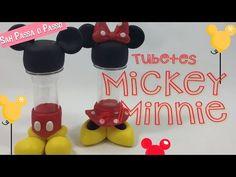 Porta lápis do Mickey passo a passo, #BiscuiteirosEmAção - YouTube