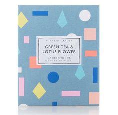 Oliver Bonas Green Tea and Lotus Flower Packaging and Branding Toy Packaging, Flower Packaging, Print Packaging, Jewellery Packaging, Tea Packing Design, Pattern Design, Print Design, Graphic Design Fonts, Packaging Design Inspiration