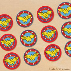 Party Birthday Women Cupcake Toppers 22 Ideas For 2019 Wonder Woman Cake, Wonder Woman Birthday, Wonder Woman Party, Birthday Woman, Husband Birthday, Superhero Cupcake Toppers, Cupcake Toppers Free, Birthday Cupcakes For Women, Girl Cupcakes