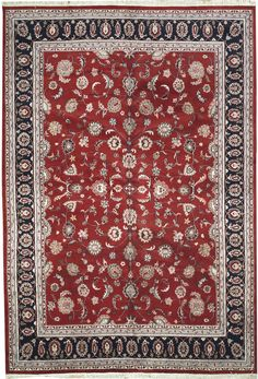 New Contemporary Persian Kashan Area Rug 51906 - Area Rug