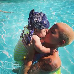 Wiz Khalifa & Amber Rose Reveal First Pictures Of Baby Sebastian -- so cute!!