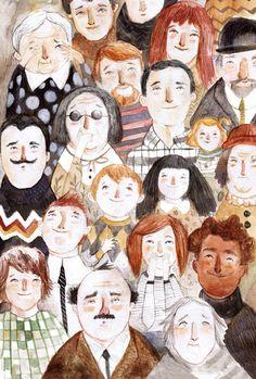 The Last Show, artwork by Adolfo Serra Art And Illustration, People Illustration, Character Illustration, Illustrations Posters, Storyboard, Painting & Drawing, Illustrators, Watercolor Art, Design Art