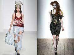 Coca Cola inspired Ashish Design