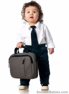 20 Babies Who Are Climbing The Corporate Ladder http://seriousbabies.com/20-babies-who-are-climbing-the-corporate-ladder