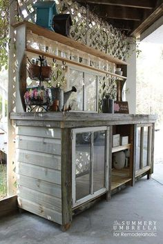 Awesome potting bench