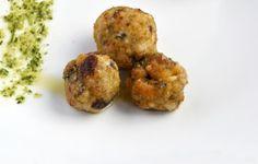 Tris di alici: polpettine, tortino, e impanate
