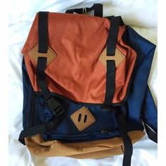 saleBackpack NWT ** Not Patagonia, but similar style. Beautiful colors. Could work as a school or travel backpack. Price is firm. Patagonia Bags Backpacks