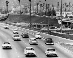 The Hollywood freeway 1965