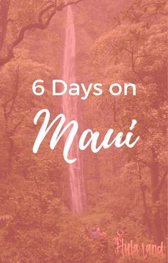 Everything you need to know to plan the perfect week on Maui! Hawaii Travel Guide, Maui Travel, Hawaii Vacation, Beach Trip, Vacation Spots, Travel Usa, Vacation Ideas, Go Hawaii, Visit Hawaii