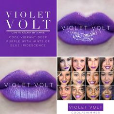 Violet Volt LipSense 2018 Collage