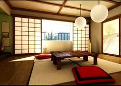 Zen decor   The colors of the environment must be natural colors, sweet interior design