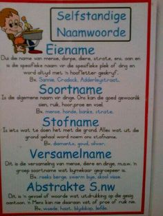 Education Humor, Kids Education, 2nd Grade Spelling Words, Math Clock, Preschool Learning, Teaching, Afrikaans Language, Afrikaans Quotes, Classroom Quotes