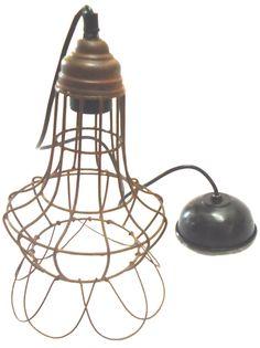 Vintage, Retro Pendant Home Lighting & Fans Rustic Pendant Lighting, Home Lighting, Vintage Metal, Cage, Liberty, Retro, Ebay, Home Decor, Political Freedom