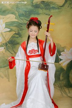 It's almost like a Chinese Cello- ASIAN :二胡 (erhu)