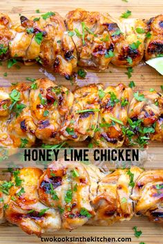 Lime Chicken Recipes, Honey Lime Chicken, Lime Recipes Dinner, Chicken Thigh Fillet Recipes, Delicious Chicken Recipes, Christmas Chicken Recipes, Health Chicken Recipes, Chicken Recipes For Dinner, Spicy Chicken Marinades