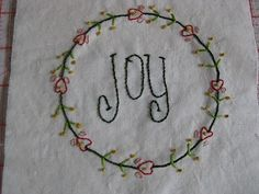 Christmas quiltpartI:embroidery | Sewn Up Gail Pan quilt and wallhanging