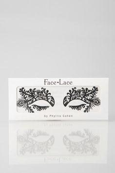 Face Lace Burlesque Eye Embellishment