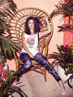Selena Gomez adidas NEO Spring 2015 Collection