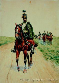 """Képtalálat a következőre: """"a szabadságharc egyenruhái"""" Hungary History, Napoleonic Wars, Interesting History, 16th Century, Vikings, Horses, Illustration, Pictures, Homeland"""