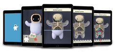 Meet Gomo, a plush toy and corresponding AR app that can help illuminate the confusion of being sick while giving kids a companion in the hospital. Skeletal System, Cute Toys, Consumer Products, Red Dots, Augmented Reality, Design Awards, Business Design, Plush, Product Launch