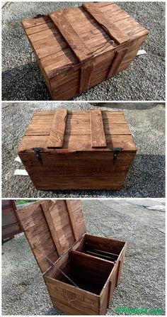 No-Cost Wooden Pallet Chest   99 Pallets