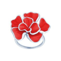 Sterling Silver Enamel Flower Ring Amazon Curated Collection. $33.87. This adorable enamel flower ring provides for the modern woman, it is crafted in gleaming sterling silver. Made in China