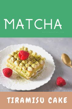 Starter Matcha Organic Green Tea Powder contains the antioxidants of regular green tea, making it an effective way to bolster the immune system and it's very healthy of your skin. Matcha Cake, Matcha Green Tea Powder, Tiramisu Cake, Healthy Drinks, Yummy Cakes, Fun Desserts, Latte, Organic, Pure Products