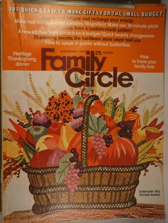 https://flic.kr/p/w16e1b | Family Circle Nov 1972 | $6.00 each plus Shipping.