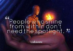 People who shine