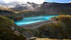 Who would have thought a dam would create such a beautiful lake! Hd Landscape, Landscape Wallpaper, Landscape Photos, Landscape Photography, Cartoon Wallpaper Hd, World Wallpaper, 1080p Wallpaper, Desktop Background Images, Desktop Backgrounds
