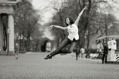 Photographer Vitaly Sokolovsky's photo series entitled Dance-Petersburg