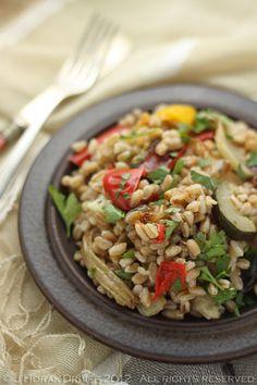 Heather's Farro | Heather O'rourke, Split Peas and Salads