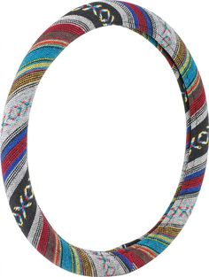 Cute Steering Wheel Covers | Colorful Baja Blanket Car Auto Steering Wheel Cover