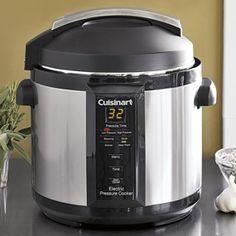 Cuisinart Electric Pressure Cooker CPC-600 | CHEFScatalog.com