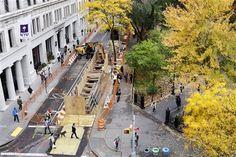 Centuries-old burial vaults found beneath NYC street