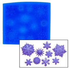 Snowflakes Set Mold by First Impressions Christmas & Holiday Molds