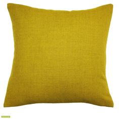 We love the depth of colour in this chartreuse cushion cover. Made from a mix of wool, nylon and alpaca this is a high quality cushion cover and ideal for blending with others to create a collection. Dry cleaning recommended.