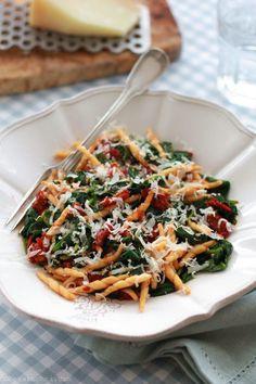 Pasta and spinaci! | Bea w kuchni